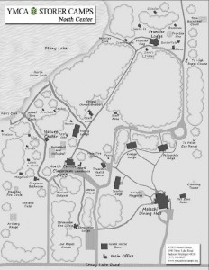 Camp Storer Map