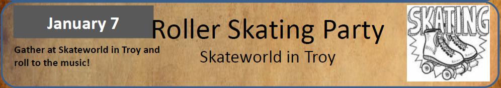 Banner Roller Skating