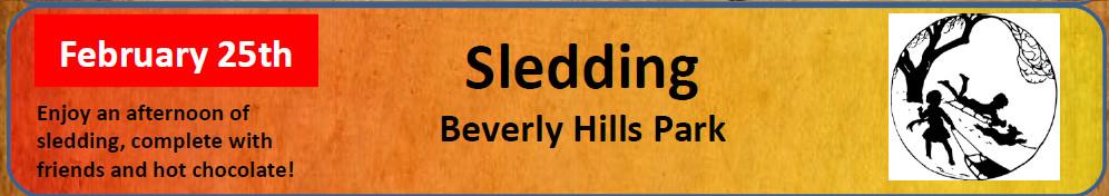 Banner Sledding